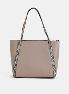 Béžova kabelka s hadím vzorom Dorothy Perkins