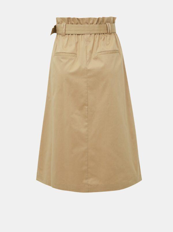 Béžová sukňa ONLY Kate