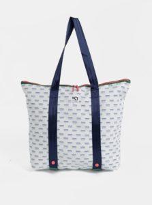Biela vzorovaná taška Kari Traa Maria