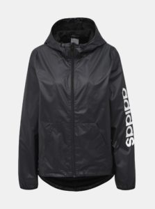 Čierna dámska bunda adidas CORE
