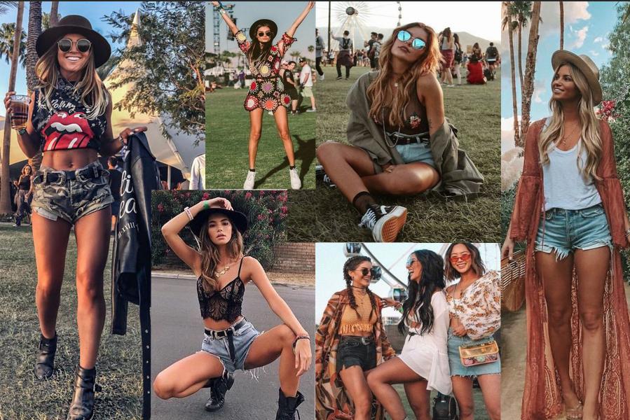 Ukážka festivalových outfitov