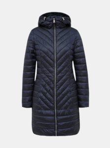 Tmavomodrý zimný kabát M&Co
