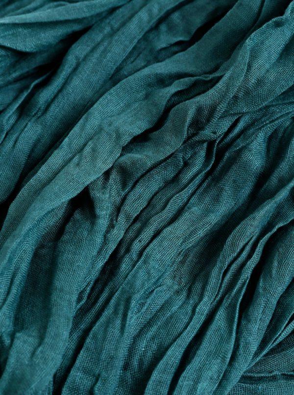 Tmavozelená dámska šatka Haily´s Uni
