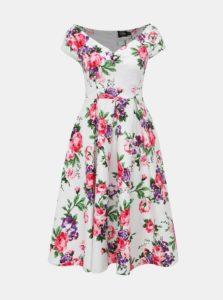 Biele kvetované šaty Dolly & Dotty Lily