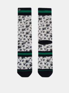 Biele pánske vzorované ponožky XPOOOS