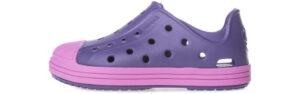 Dievčenské  Bump It Shoe Crocs dětské Crocs -  fialová