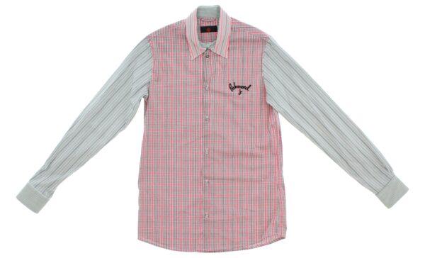Chlapčenské  Košeľa  detská John Richmond -  ružová šedá