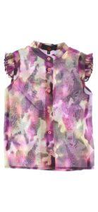 Dievčenské  Blúzka detská John Richmond -  fialová viacfarebná