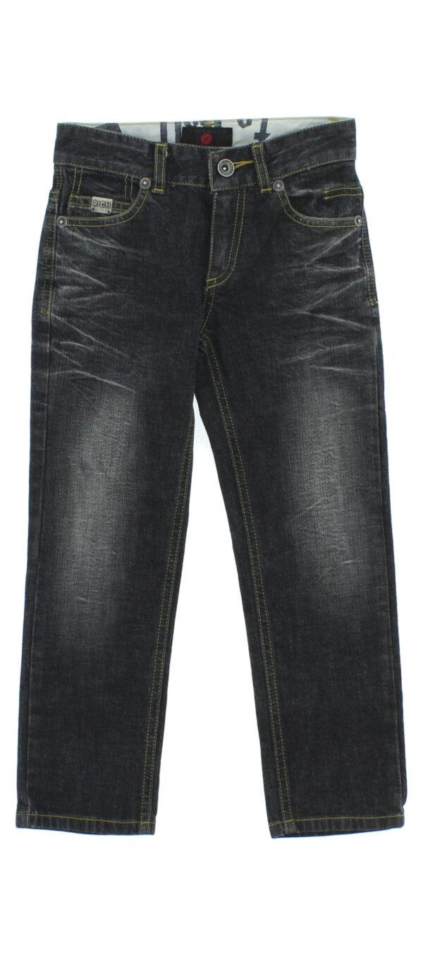 Chlapčenské  Jeans detské John Richmond -  čierna šedá