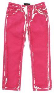 Dievčenské  Jeans detské John Richmond -  červená biela