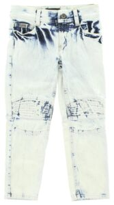Dievčenské  Jeans detské John Richmond -  modrá biela