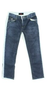Chlapčenské  Jeans detské John Richmond -  modrá biela