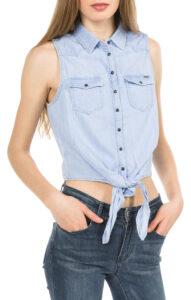 Dámske  Binx Košeľa Pepe Jeans -  modrá