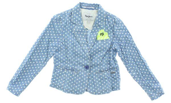Dievčenské  Sako detské Pepe Jeans -  modrá