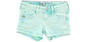 Dievčenské  Šortky detské Pepe Jeans -  modrá biela