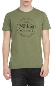 Pánske  Dreer Tričko Norton -  zelená