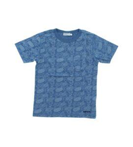Chlapčenské  Tričko detské Geox -  modrá