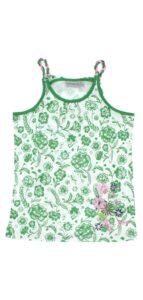 Dievčenské  Tielko detské Geox -  zelená biela