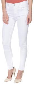 Dámske  Jeans French Connection -  biela