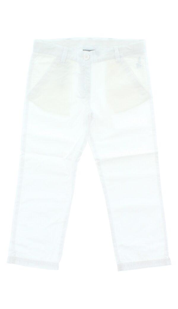 Dievčenské  3/4 nohavice detské Geox -  biela