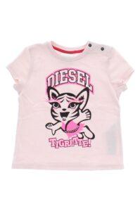 Dievčenské  Tričko detské Diesel -  ružová