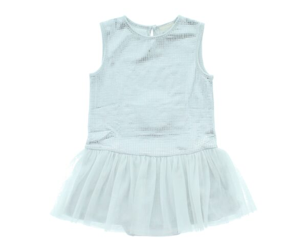 Dievčenské  Šaty detské Diesel -  biela strieborná