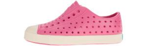 Dievčenské  Jefferson Slip On detské Native Shoes -  ružová