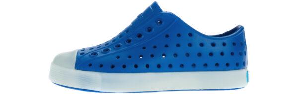 Chlapčenské  Jefferson Glow Slip On detské Native Shoes -  modrá