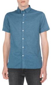 Pánske  Phlake Košeľa Jack & Jones -  modrá