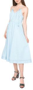 Dámske  Dobby Šaty Juicy Couture -  modrá