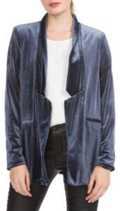 Dámske  Agnes Blejzer Vero Moda -  modrá