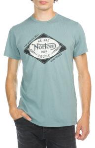 Pánske  Drill Tričko Norton -  modrá