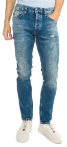 Pánske  Zinc Dusted Jeans Pepe Jeans -  modrá