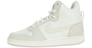 Dámske  Court Borough Mid Premium Tenisky Nike -  béžová