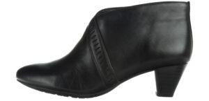 Dámske  Denny Frances Členková obuv Clarks -  čierna