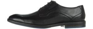 Pánske  Prangley Walk Spoločenská obuv Clarks -  čierna