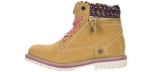 Dievčenské  Creek Zip Členková obuv detská Wrangler -  žltá