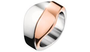 Dámske  Prsteň Calvin Klein -  ružová strieborná