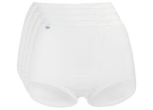 Dámske  Basic+ Nohavičky 4 ks sloggi -  biela