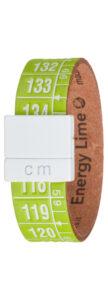 Pánske  Energy Lime Náramok Il Centimetro -  zelená