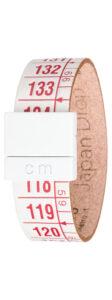 Pánske  Japan Drop Náramok Il Centimetro -  červená biela