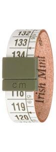 Pánske  Irish Mint Náramok Il Centimetro -  zelená biela