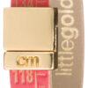 Pánske  Little Red Gold Náramok Il Centimetro -  červená zlatá