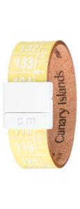 Pánske  Canary Island Náramok Il Centimetro -  žltá