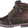 Dievčenské  Creek Zip Členková obuv detská Wrangler -  čierna