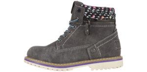 Dievčenské  Creek Zip Členková obuv detská Wrangler -  šedá