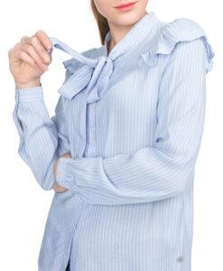 Dámske  Ayumi Blúzka Pepe Jeans -  modrá