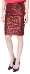 Dámske  Glamour Sukňa Vero Moda -  červená
