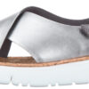 Dámske  Oruga Sandále Camper -  biela strieborná