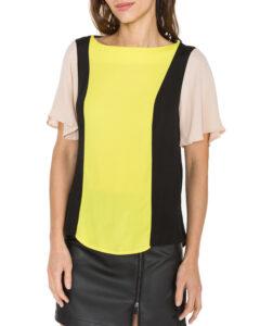 Dámske  Blúzka Trussardi Jeans -  čierna žltá